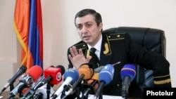 ԴԱՀԿ ծառայության պետ Միհրան Պողոսյան