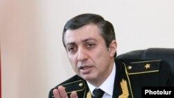 Бывший руководитель Службы принудительного исполнения судебных актов Мигран Погосян (архив)