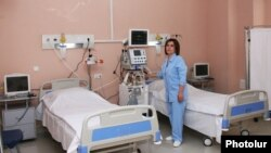 Armenia - A newly renovated hospial in Tavush province, 24Jul2015.