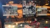 Kazakhstan - Almaty memory after fire in Astana