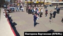 """Митинг под лозунгом """"Народ и полиция едины"""" в Иркутске"""