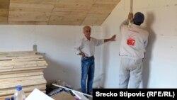 Majstori dovršavaju posao u Muhamedovoj i Slavicinoj kući