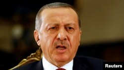 "Speaking to Reuters on July 21 after declaring a three-month state of emergency, Turkish President Recep Tayyip Erdogan also said Turkey's armed forces will be quickly restructured and have ""fresh blood."""