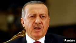 Թուրքիայի նախագահ Ռեջեփ Էրդողանը հարցազրույց է տալիս Reuters-ին, Անկարա, 21-ը հուլիսի, 2016թ․