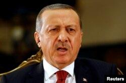 Președintele turc Tayyip Erdogan