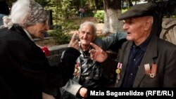 Ветераны Второй мировой войны в парке Ваке (архивное фото)