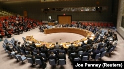 Заседание Совета Безопасности ООН по вопросу о ракетных испытаниях КНДР