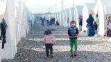 مخيم بيرسفي للاجئين قرب دهوك