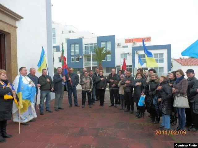 Украинцы Португалии призвали Европу не молчать