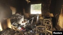 Консульство США в Бенгази после нападения.