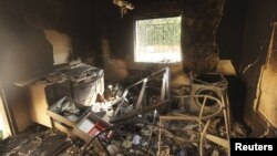 Здание консульства США в Бенгази было разгромлено