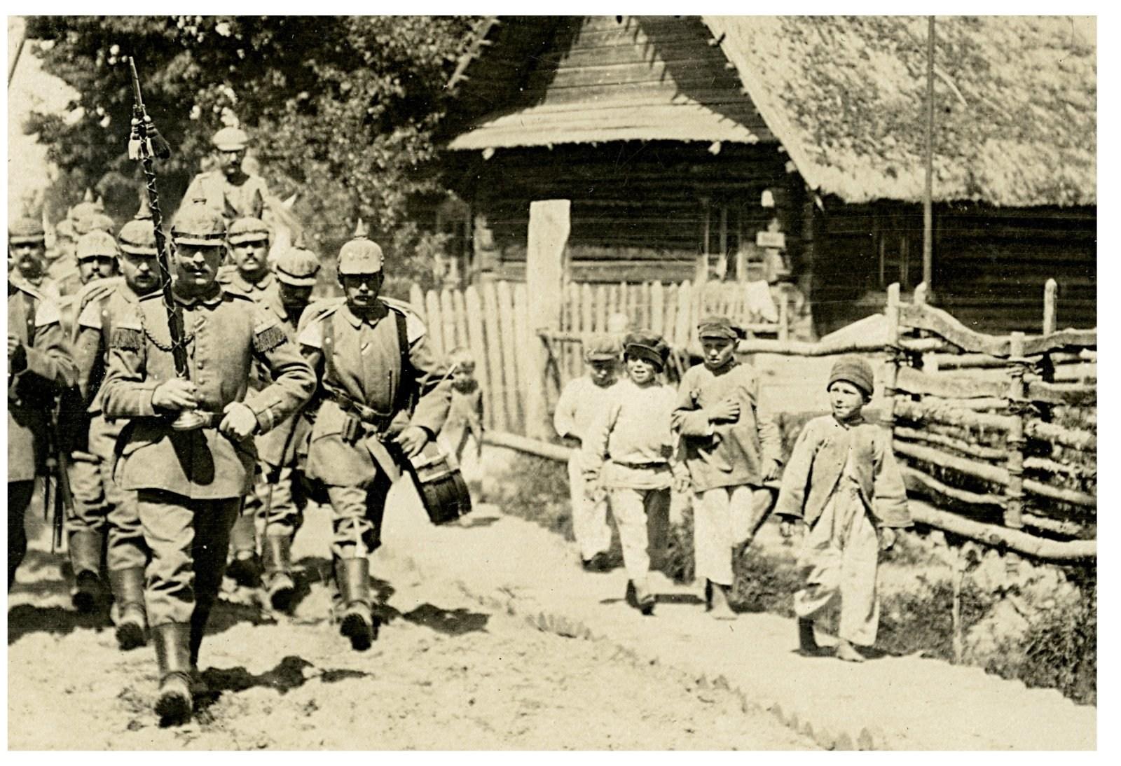 Як звалася нямецкая адміністрацыя, якая існавала на тэрыторыі Беларусі падчас Першай сусьветнай вайны?