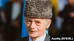 Krım tatarlarının lideri Mustafa Qrımoğlu