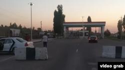 """На таджикско-узбекской границе. Фото сайта """"Фергана.ру"""""""