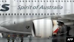 Airbus A380 авиакомпании Qantas