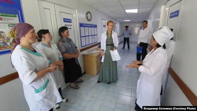Профсоюзная проверка больницы в Дагестане