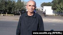 Өзбекстандық саяси тұтқын Агзам Тургуновтың түрмеден босаған сәті. 7 қазан 2017 жыл.