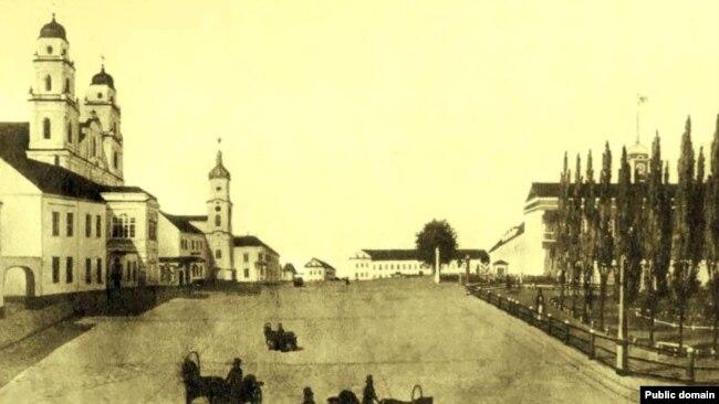 Менск 1820-ых гадоў