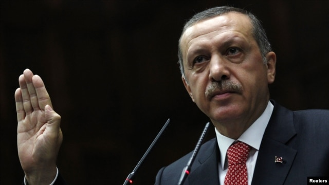 Turkish Prime Minister Recep Tayyip Erdogan, addressing members of parliament on June 26, said the Turkish military will respond to any future violations of its border by military units from Syria.