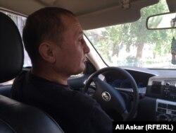 Канат, водитель службы такси «Азия» в Актобе.