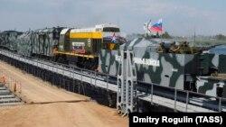 Учения железнодорожных войск России, архив