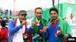 اسماعيل عبادی، مجيد قيدی و امير کاظمپور ترکيب ايران در مسابقات جهانی ۲۰۱۵ را تشکيل میدادند