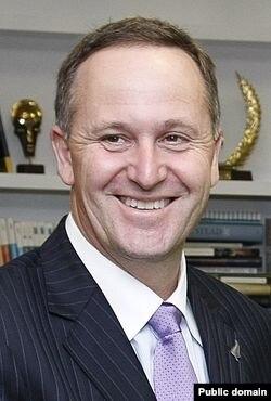 Джон Кей, премьер-министр Новой Зеландии