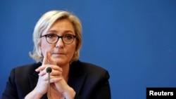 Лідер французької партії «Національне об'єднання» Марін Ле Пен