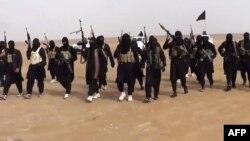 """Fotografi ku besohet se shihen militantët e """"Shtetit Islamik të Irakut dhe Levanti"""" (ARKIV)"""