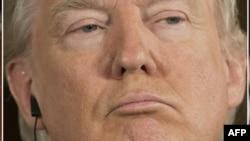 Дональд Трамп, президент США.