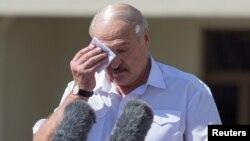 Олександр Лукашенко. Мінськ, 16 серпня 2020 року