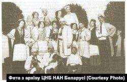 Першая беларуская трупа Ігната Буйніцкага. 1910 год