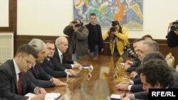 Razgovori delegacija Srbije i Albanije, Foto: Vesna Anđić