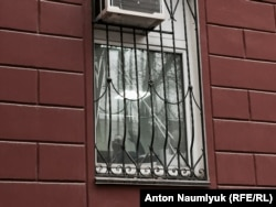 Николай Полозов в здании УФСБ по Крыму