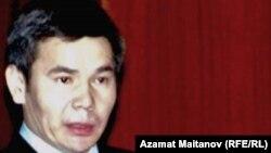 Атырау облысының бұрынғы әкімі Бергей Рысқалиев.
