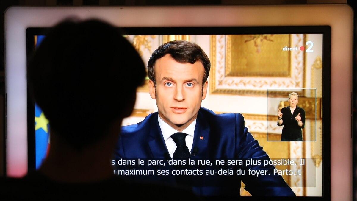 Макрон остановил все реформы во Франции через коронавирус