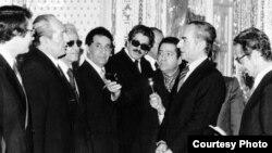 دیدار اعضای کابینه بختیار با محمدرضا شاه پهلوی