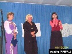 Алып баручы Розалия Бакиева, Гөлшат Кәбирова, Гөлнара Кәримова