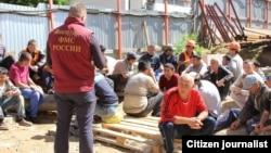 Мигранттар, Орусия. 2015