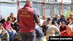 Сўнгги пайтларда Россияда ҳокимият вакилларининг меҳнат муҳожирлари тарафидан калтакланиши ҳолатлари кўпаймоқда