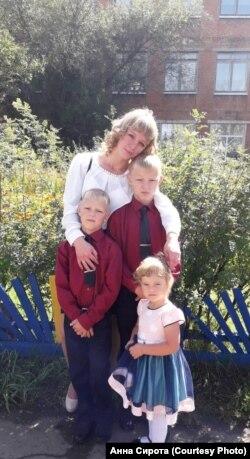 Семья Анны Сироты из Тулуна