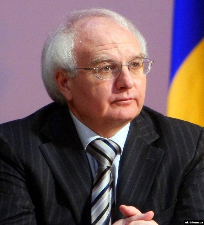 Тодішній міністр освіти і науки України Іван Вакарчук. Київ, 27 березня 2008 року