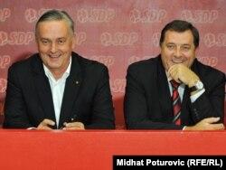 Zlatko Lagumdžija i Milorad Dodik