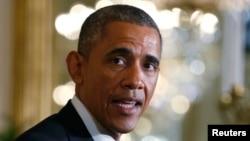 Барак Обама в Белом Доме. 16 января 2016 года