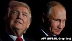 از راست: پوتین و ترامپ