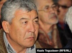 Нурлыбек Нургалиев, пострадавший во время событий 16 декабря 2011 года в Жанаозене. Алматы, 17 декабря 2012 года.