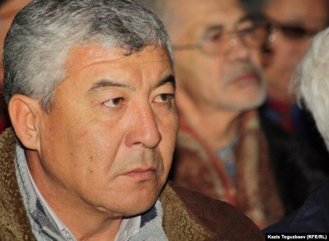 Zhanaozen activist Nurlybek Nurgaliev (file photo)
