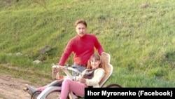 Ігор Мироненко, конструктор «лежачого велосипеда». Суми