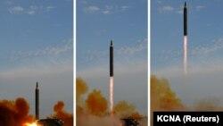 Солтүстік Кореяның зымыран ұшыруы. (Көрнекі сурет.)