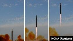 Түндүк Кореядагы ракета сыноо (архив)